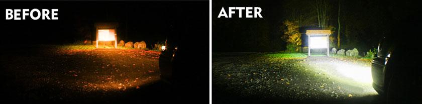 Lighting Effect of LED Work Light